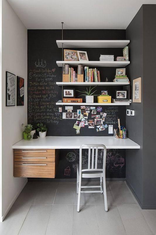 thiết kế nội thất phòng làm việc tiện nghi tại nhà