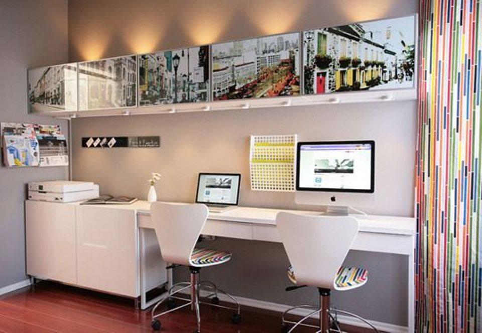 thiết kế phòng làm việc tiện nghi, hợp phong thủy tại gia