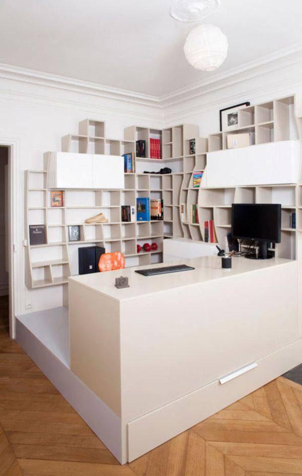 ý tưởng thiết kế phòng làm việc đẹp hợp phong thủy tại nhà