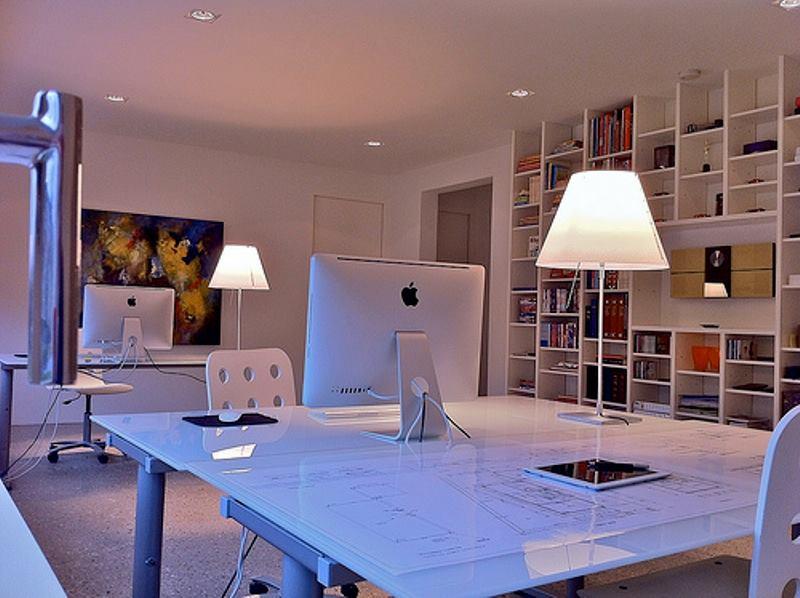 thiết kế không gian làm việc tiện nghi, hợp phong thủy tại nhà