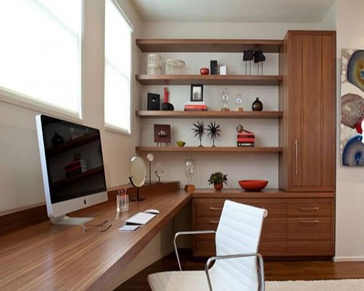 thiết kế phòng làm việc hợp phong thủy tại nhà