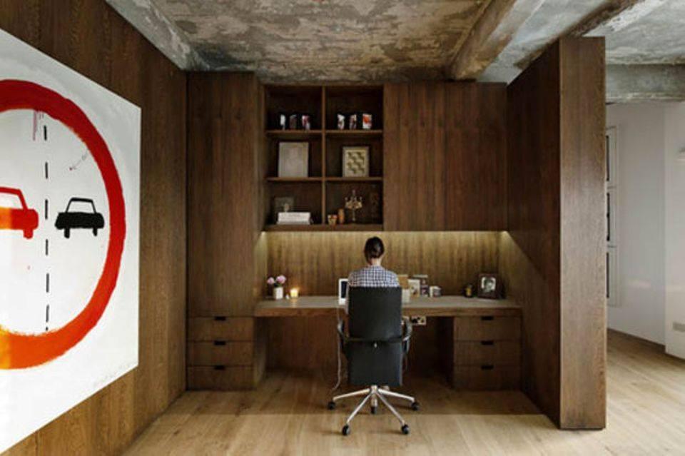 không gian làm việc đẹp hợp phong thủy tại nhà