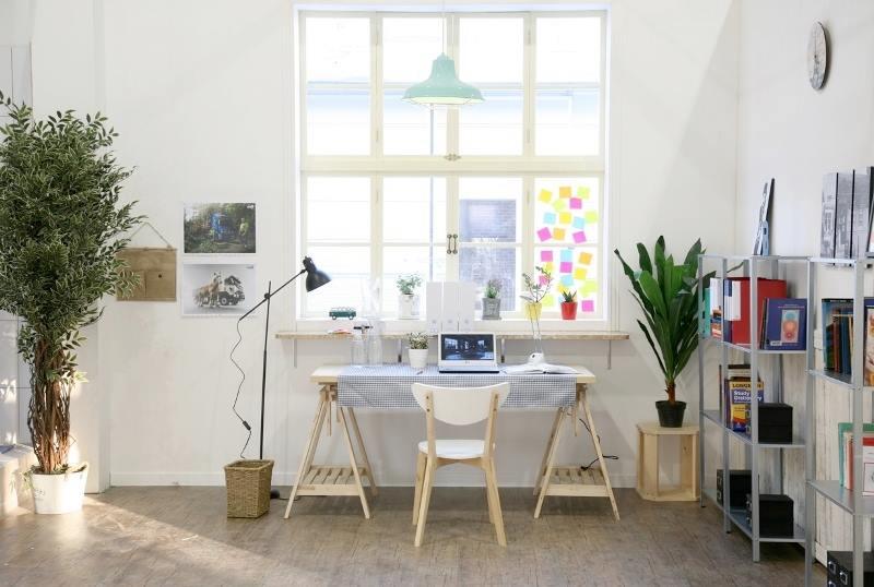 thiết kế nội thất phòng làm việc hợp phong thủy tại nhà