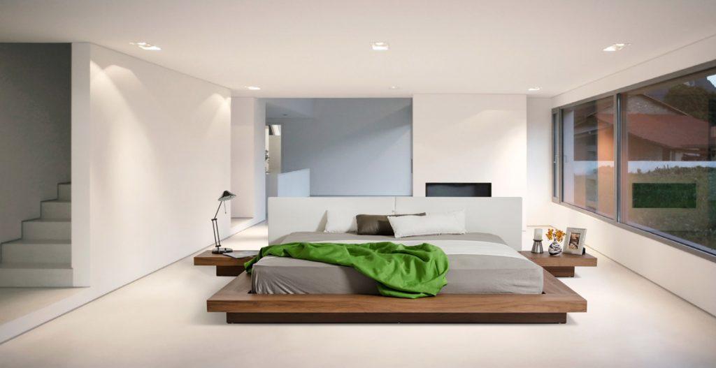mẫu giường ngủ, phòng ngủ độc đáo.