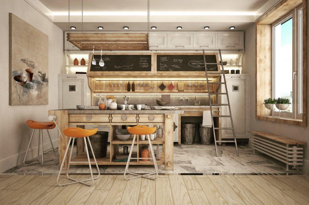 nội thất nhà bếp đẹp.