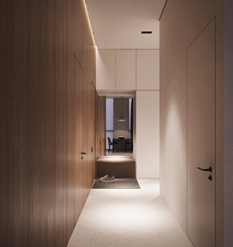thiết kế nội thất đẹp và tiện nghi cho căn hộ nhỏ.