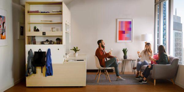 thiết kế nội thất tiết kiệm không gian cho nhà nhỏ.