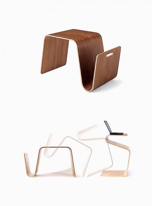 mẫu thiết kế bàn cafe hiện đại độc đáo cho phòng khách.