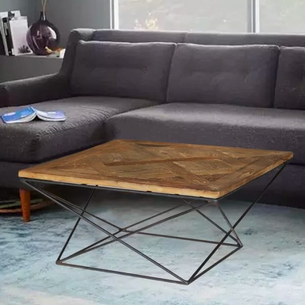 thiết kế và lắp đặt bàn cafe đẹp cho phòng khách.