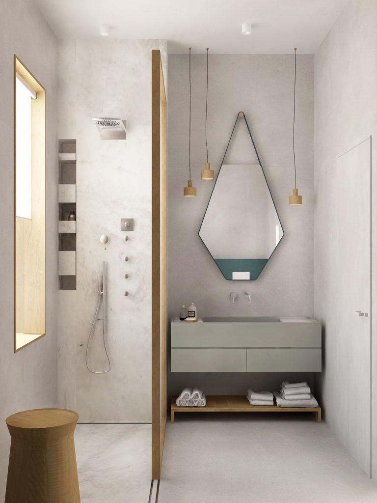 thiết kế thi công nội thất phòng tắm đẹp và sang trọng.