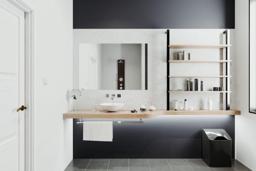 mẫu thiết kế và thi công nội thất phòng tắm đẹp độc đáo.