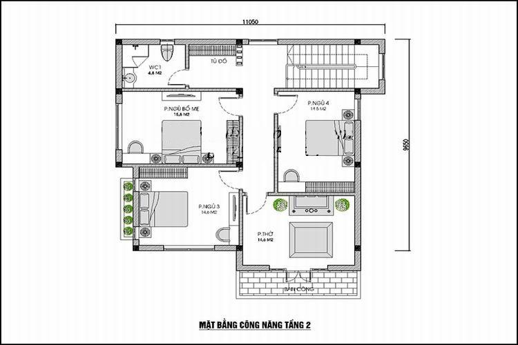 mb-tang-2-nha-vuong-2-tang Thiết kế nhà 2 tầng mái thái