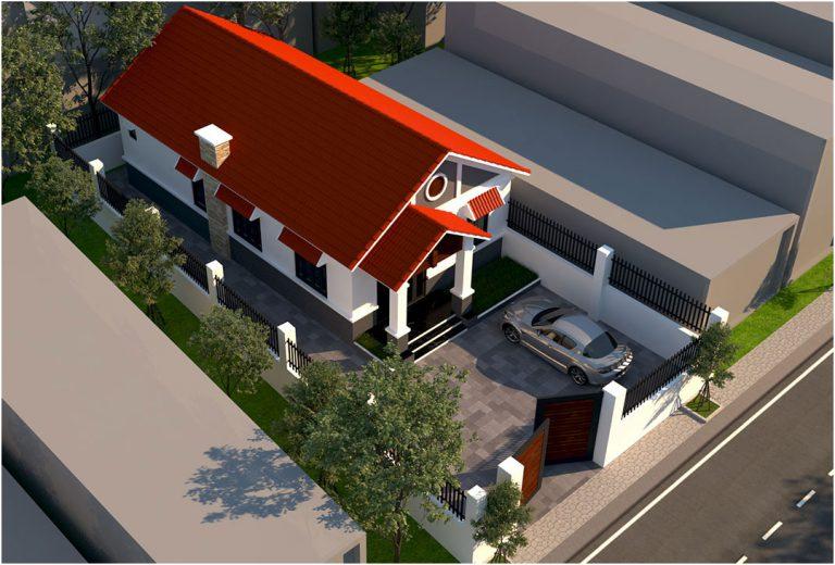 nha-ong-cap-4-mai-thai-3-phong-ngu-1-phong-tho Thiết kế nhà cấp 4 3 phòng ngủ 1 phòng thờ mái thái diện tích 100m2