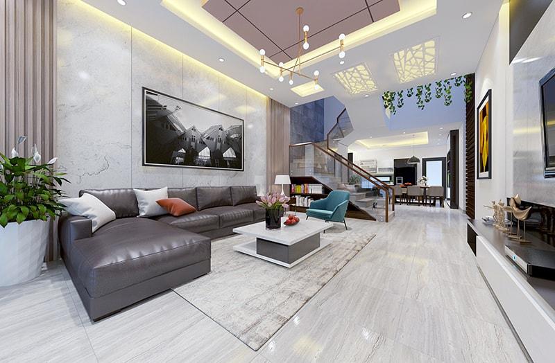 nội thất phòng khách đẹp hiện đại 23