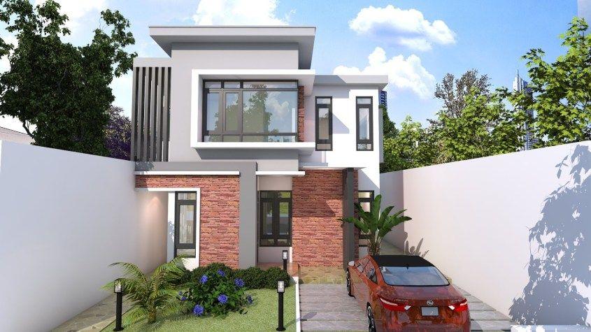 xây nhà cấp 4 diện tích 8x12m-5