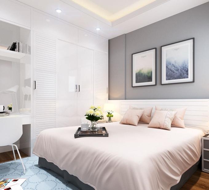 thiết kế nội thất căn hộ chung cư 70m2