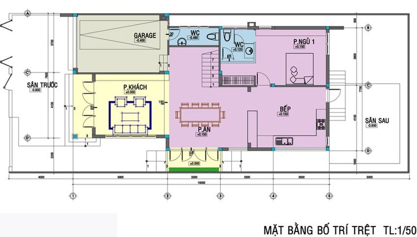 Thiết kế biệt thự mini trên diện tích 100m2