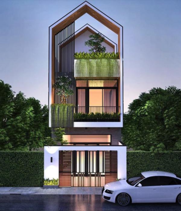 Mẫu thiết kế nhà độc đáo, gần gũi với thiên nhiên