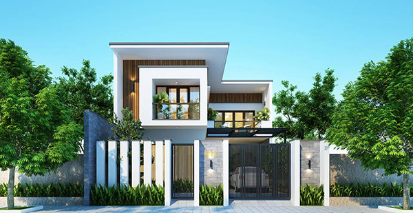 Kiến trúc lệch tầng giúp căn nhà trở nên thu hút, độc đáo